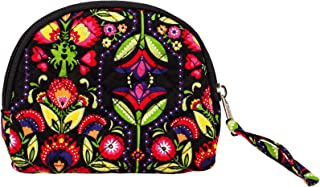 product image for Small Essentials by Stephanie Dawn, Made in USA, Quilted Fabric, Full Zipper Closure, Essential Oil Case, Makeup Bag, Coin Purse, Travel Case, Accessory