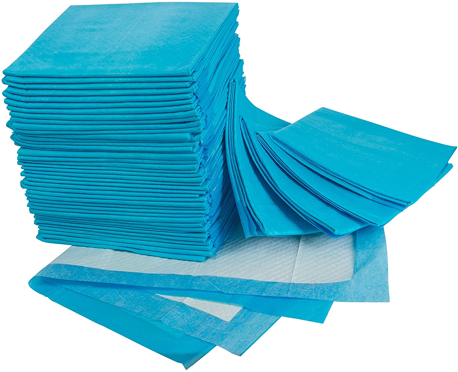 Disposable Underpads 23x36 Inches – Ultra Absorbent 60g Bulk Bed Pads For Adults, Pets, Furniture – Thick Incontinence Bedding & Furniture Protectors – 50 Count