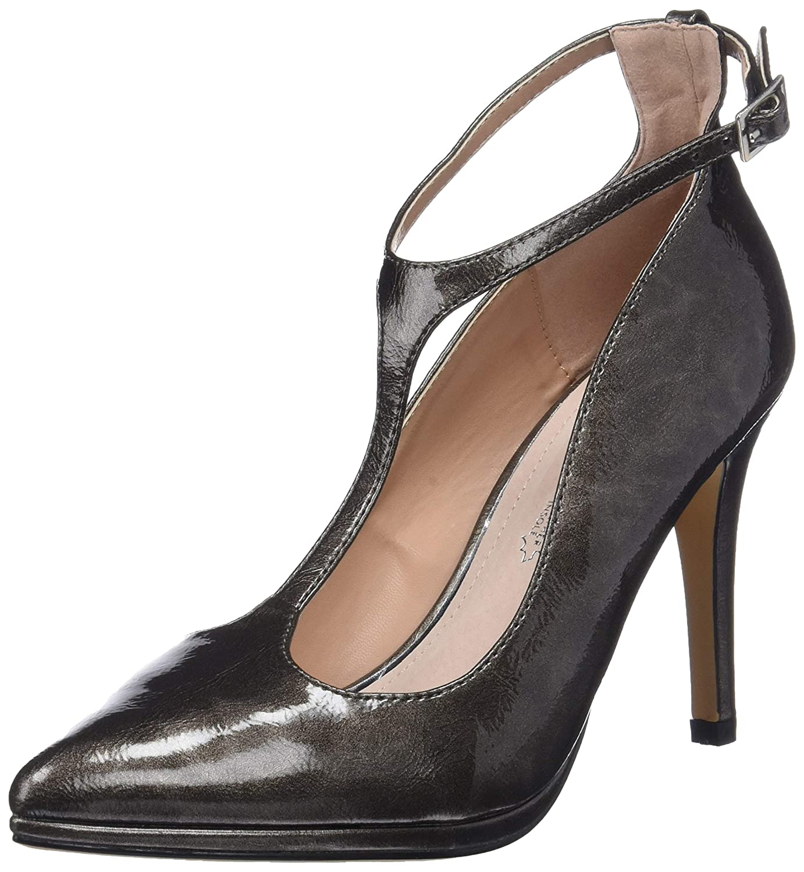 MARIA MARE 62109, Zapatos con Tacon y Correa de Tobillo para Mujer