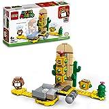 LEGO 71363 Super Mario Pokey i Öknen Expansionsset, Flerfärgad, 180 Delar, 26,2 x 14,1 x 6,1 cm