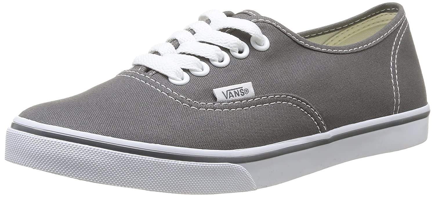 Vans Authentic B01N3KIN56 4.5 Men = 6 Women|Pewter/True White