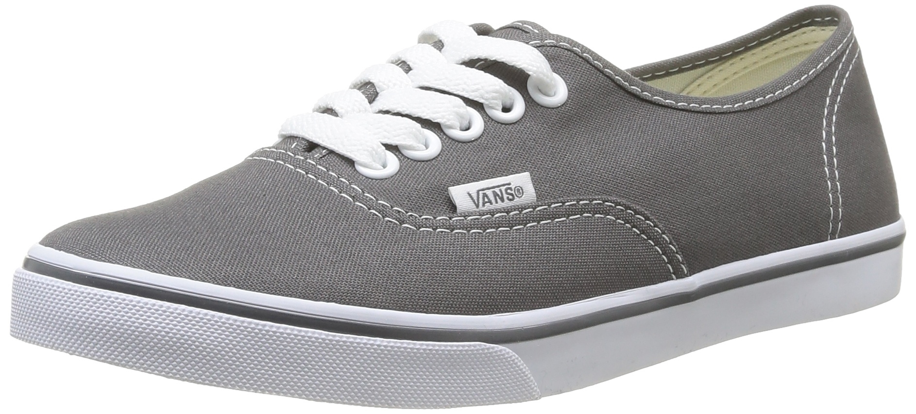 Vans Unisex's VANS AUTHENTIC LO PRO CASUAL SHOES 7 Men US / 8.5 Women US (PEWTER/TRUE WHITE) by Vans