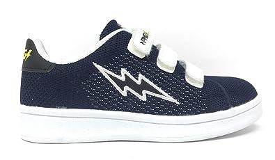 pretty nice 1baad f4213 Primigi 1453100 Sneakers Scarpe Bambino Blu Knit: Amazon.co ...