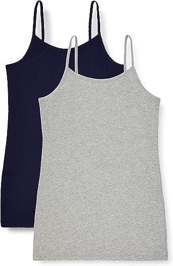 Marca Amazon - IRIS & LILLY Camiseta de Tirantes Body Natural para ...