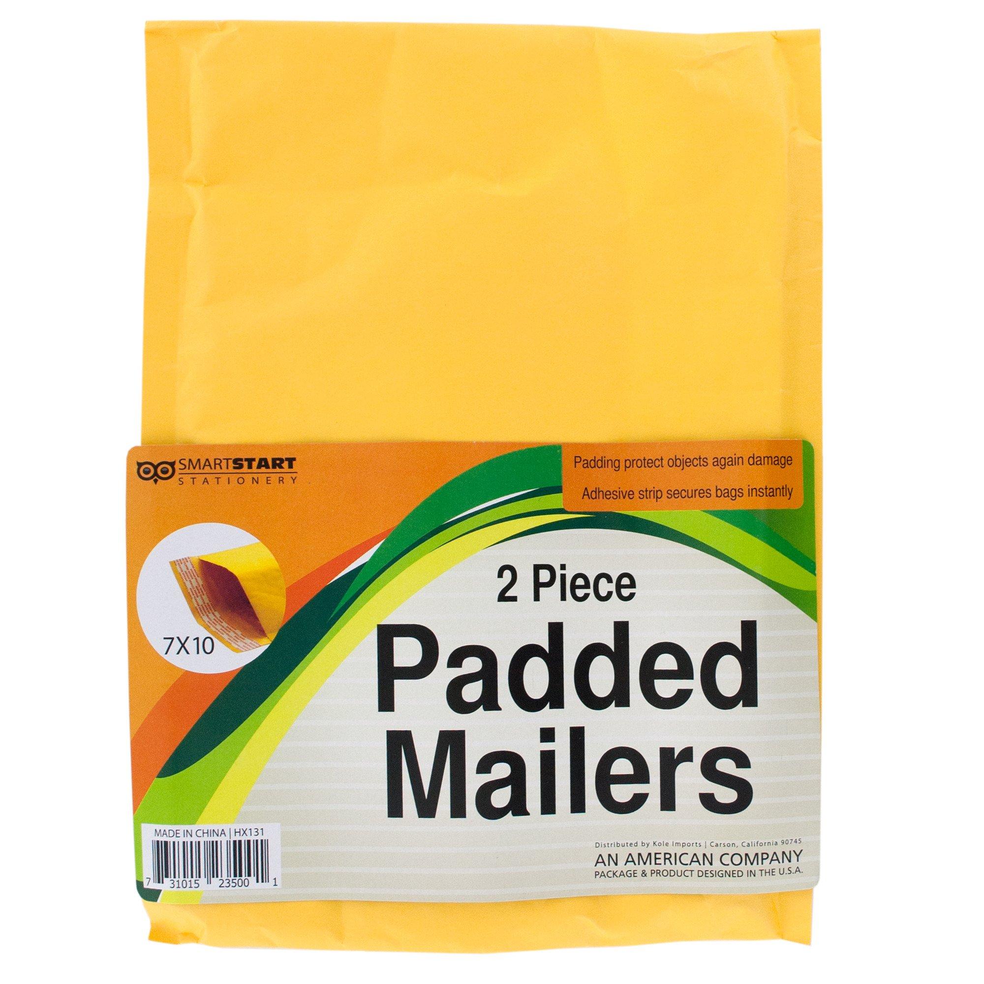 123-Wholesale - Set of 36 Medium Padded Mailers - School & Office Supplies Envelopes