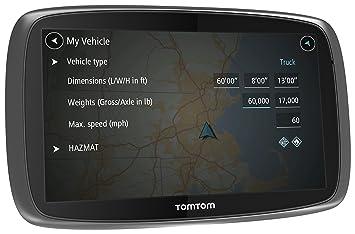 "TomTom Trucker 5000 - Navegador GPS para el camión (Pantalla táctil de 5"","