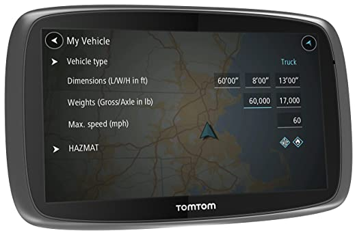 Amazoncom TomTom Trucker GPS Device GPS Navigation For - Gps amazon com