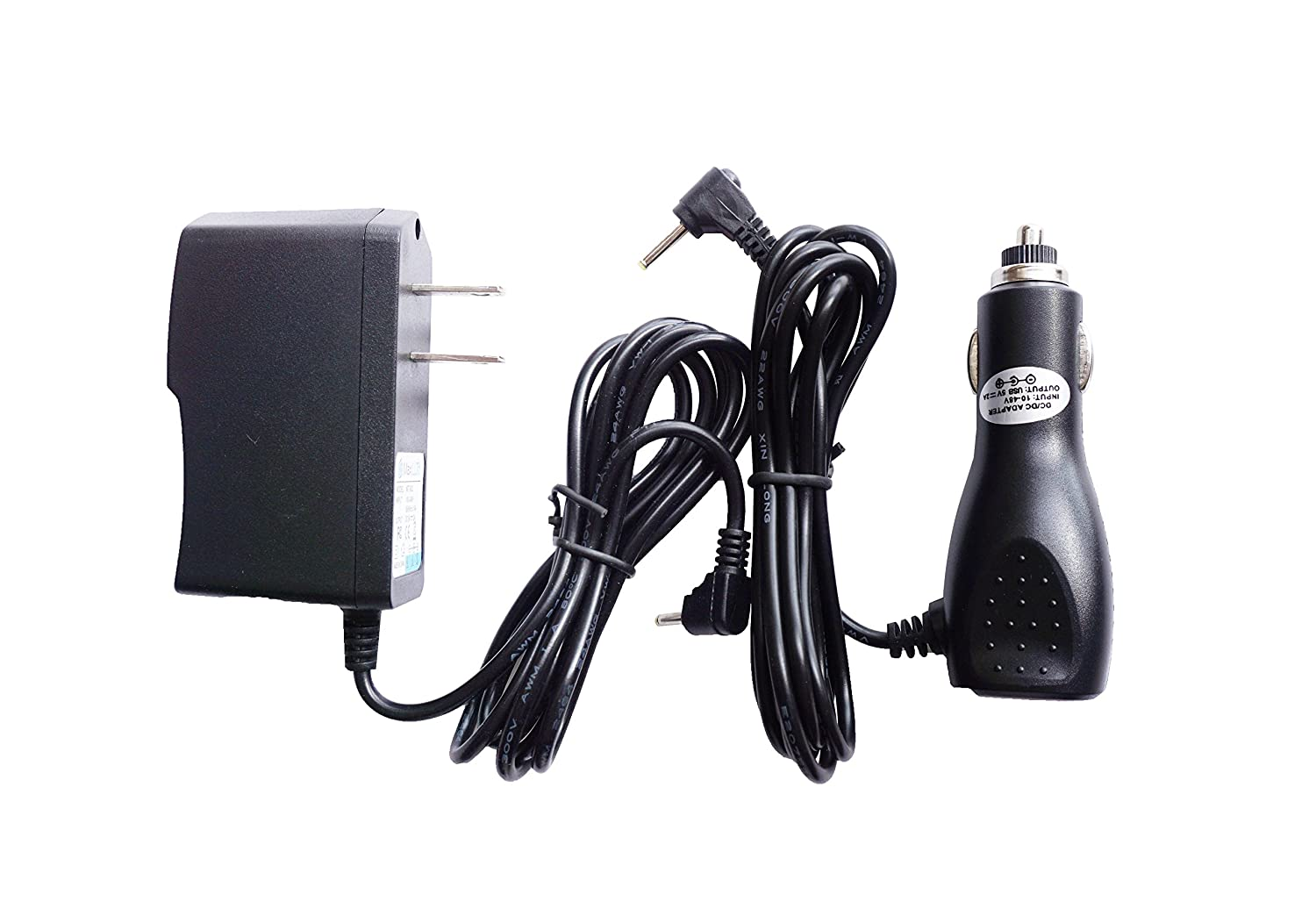 Amazon.com: MaxLLTo™ Car + AC/DC Power ADAPTER For RCA DHT235A W DHT235AR DHT235C DHT235D Portable TV: Home Audio & Theater