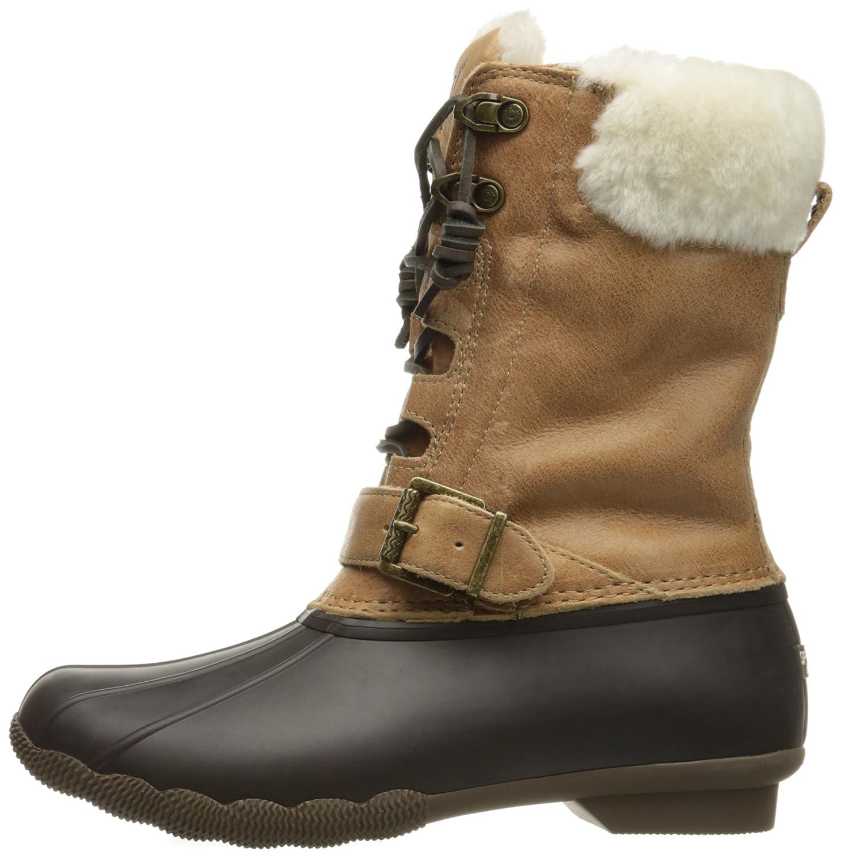 Sperry Top-Sider Women's Saltwater Misty Thinsulate Rain Boot B019X7G5YK 7 B(M) US|Brown/Natural