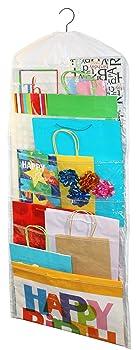 Jokari Gift Bag Wrapping Paper Organizer