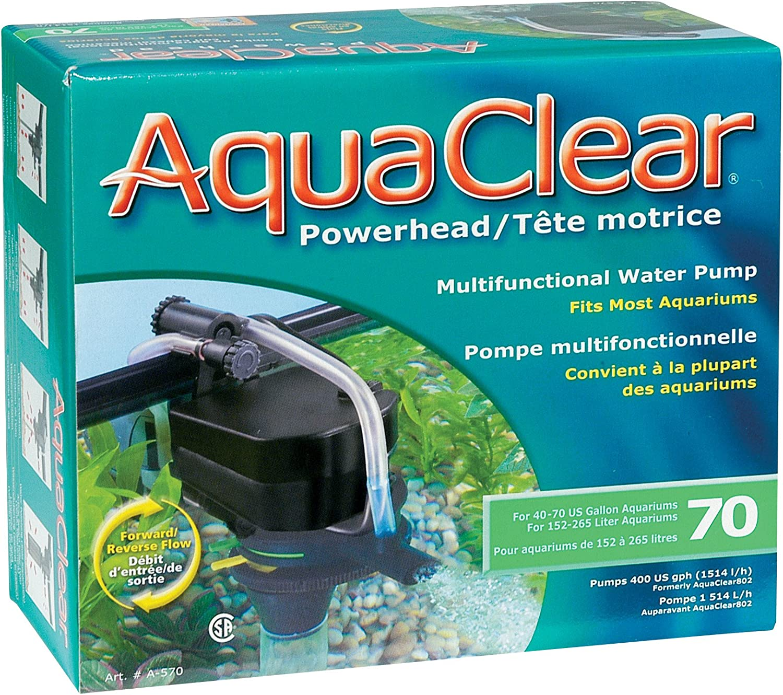 Aquaclear Powerhead Pompe pour Aquarium 114 L