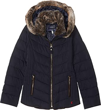 shoes for cheap best quality best sale Joules Girl's Gosling Coat: Amazon.co.uk: Clothing