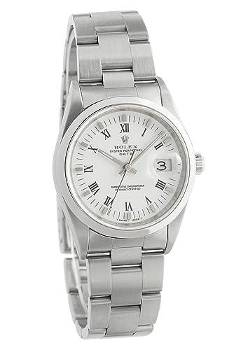Rolex Oyster Perpetual automatic-self-wind 15200 - Reloj para hombre _ (Certificado) de segunda mano: Rolex: Amazon.es: Relojes