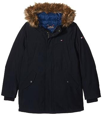 99a4a7510377 Tommy Hilfiger Jungen Jacke THKB 2 IN 1 Jacket, Blau (Navy Blazer 431)