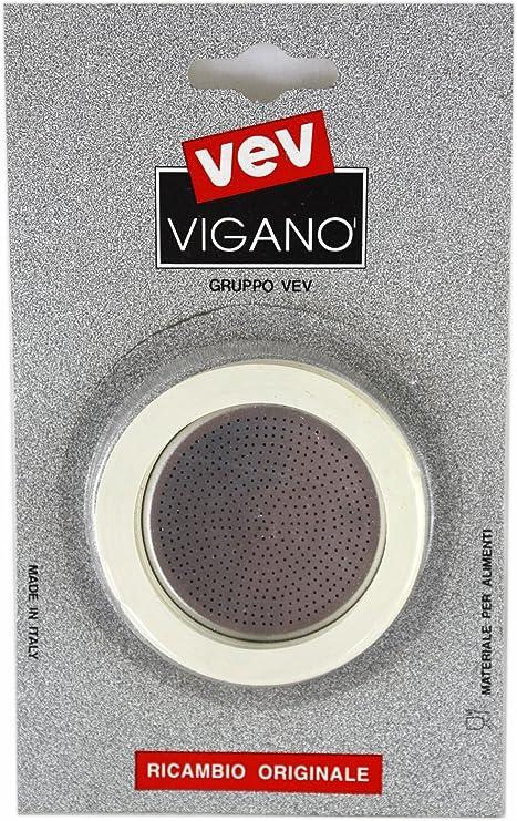 Vev Vigano el hornillo sellos de goma para Cafetera de Espresso ...