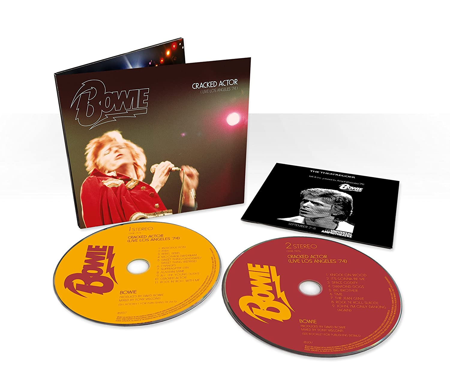 Cracked Actor - Live in Los Angeles 74 (Limited Edition Digipak ...