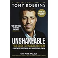 Unshakeable: Your Guide to Financial Freedom By Tony Robbins - Paperback