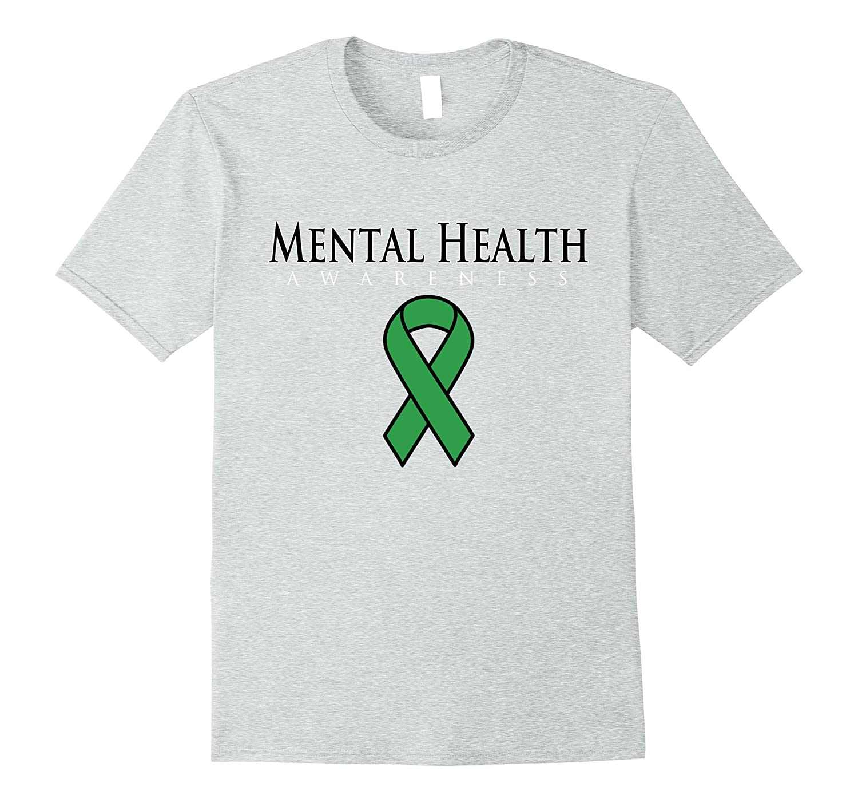 Mental Health Awareness Ribbon T Shirt Tj Theteejob