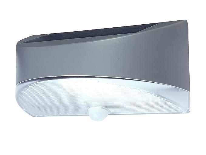 Eco Light – Lámpara solar LED Funcional Bread, con panel solar y detector de movimiento