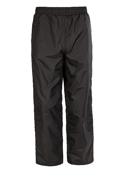 dac6725dcef42 SWISSWELL Kids Waterproof Trousers Rainwear Snowcoat Outwear Ski Childrens  Outdoor Pants Black 128cm