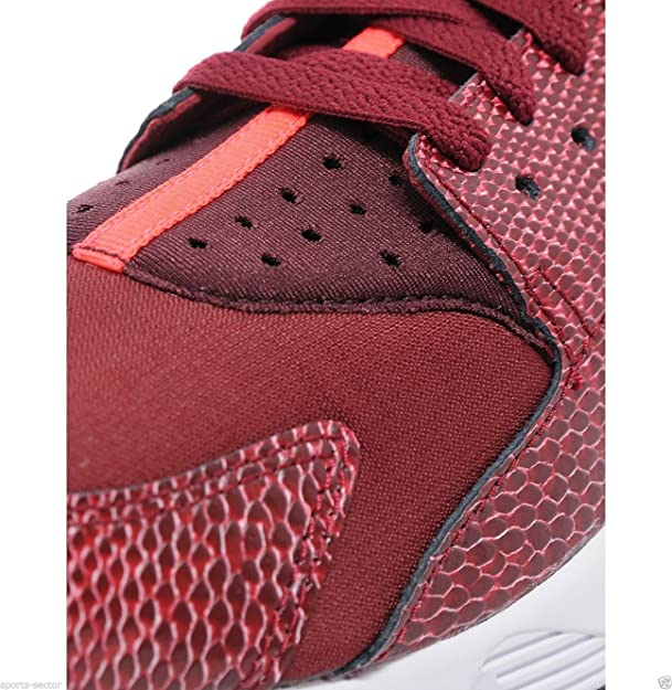 release date 748cd d0b17 NIKE WMNS Air Huarache Red Lizard Trainers (UK9 EUR44 US11.5)  Amazon.co.uk Shoes  Bags