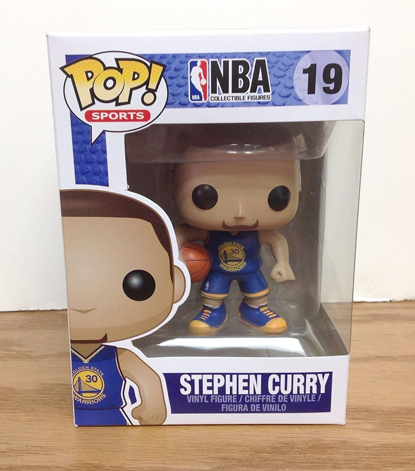 Funko Pop! NBA Stephen Curry #19 (Golden State Warriors) by FunKo ...