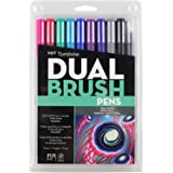 Tombow Dual Brush Marker, DBP10-56169 Art Deco Galaxy