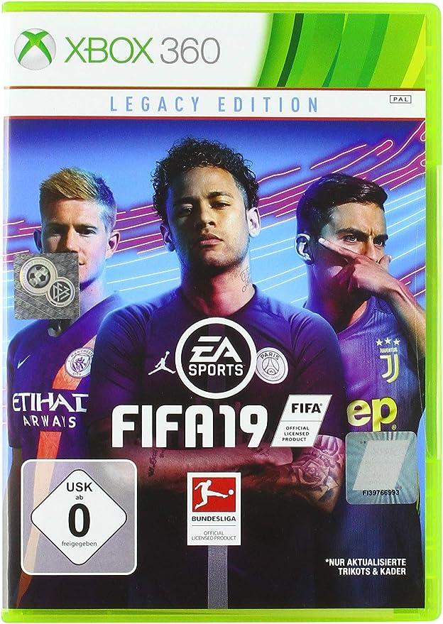 FIFA 19 - Legacy Edition - Xbox 360 [Importación alemana]: Amazon ...