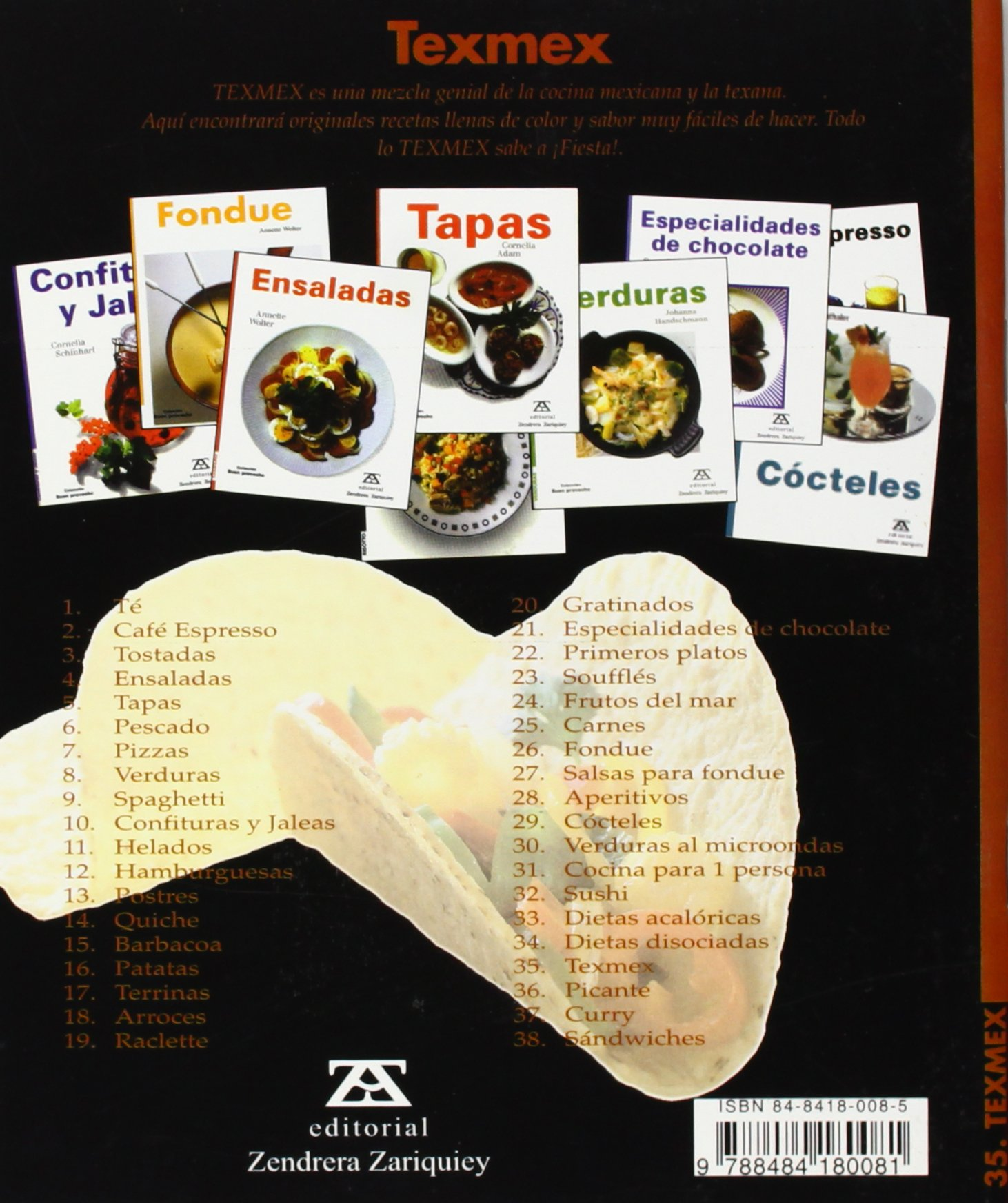 Texmex (Spanish Edition): Reinhardt Hess: 9788484180081: Amazon.com: Books