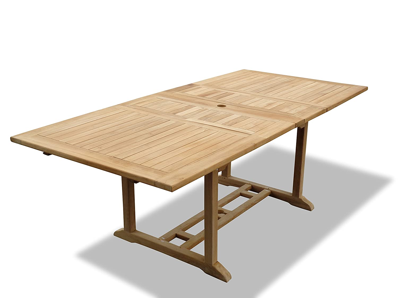 Amazon.com: Windsor - Mesa de comedor rectangular de alta ...