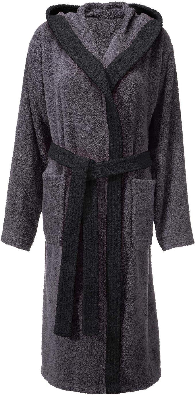 CelinaTex Fehmarn - Albornoz para mujer con capucha de algodón ...