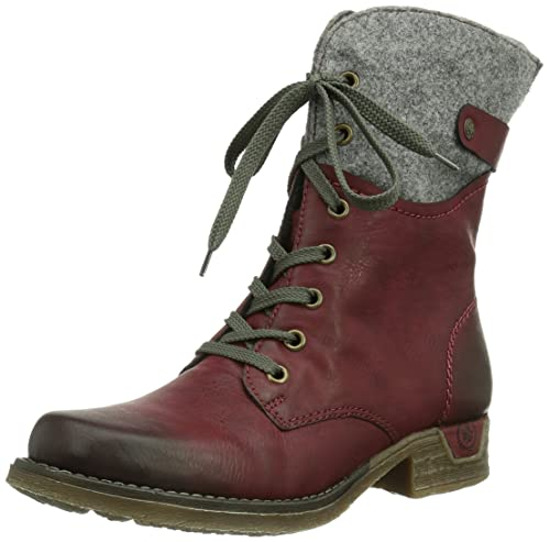 Rieker 79604 - Botas Pare Mujer, Marrón (Cayenne/Wood/24), 43