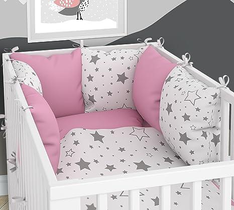 Linge de Lit Literie pour Enfants 100x135+40x60 Chatons Rose Linge de Lit B/éb/é 100/% Coton