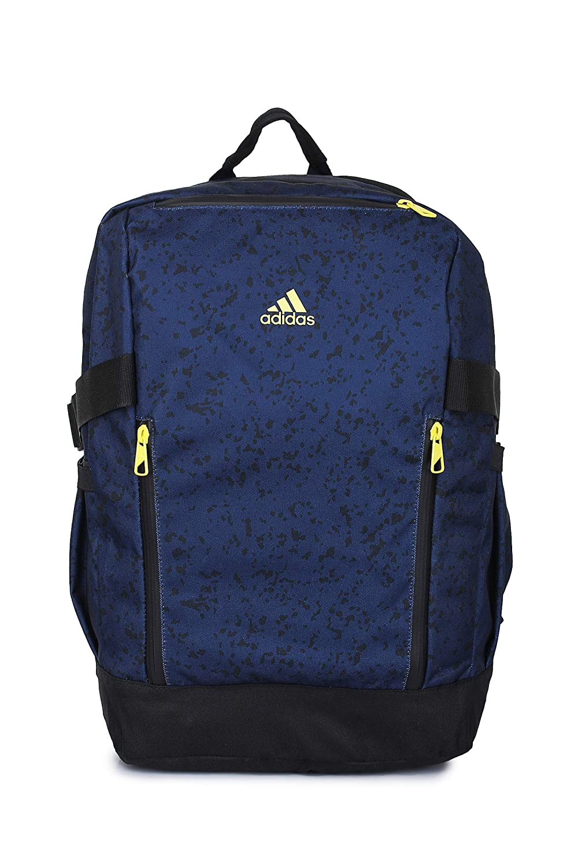 Adidas Unisex Navy Blue URABAN Power BPL Backpack  Amazon.in  Bags ... d5c60b8bab09d