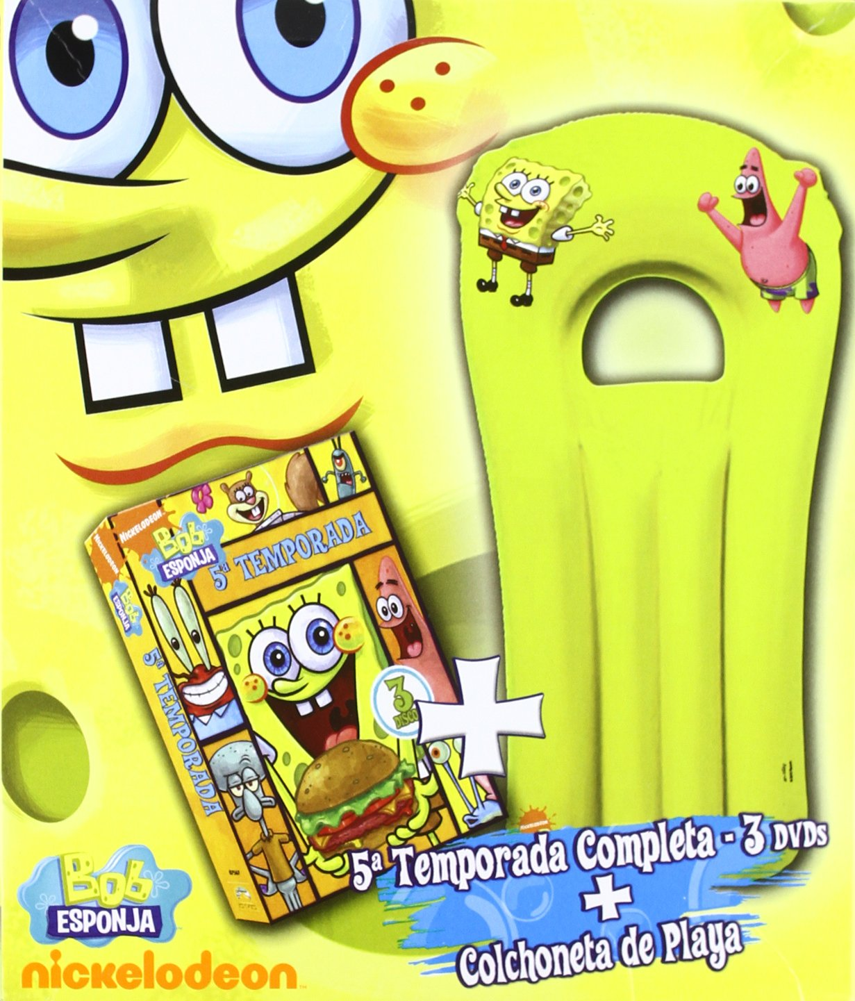 Amazon.com: Bob Esponja 5ª Temp. + Colchoneta Playa (Spain ...