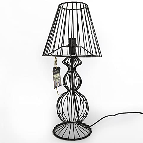 Black wire table lamp amazon lighting black wire table lamp greentooth Images