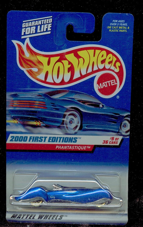 DARK BLUE 1:64 Scale Die Cast Car #9 OF 36-#069 PHANTASTIQUE Mattel Hot Wheels 2000 First Edition