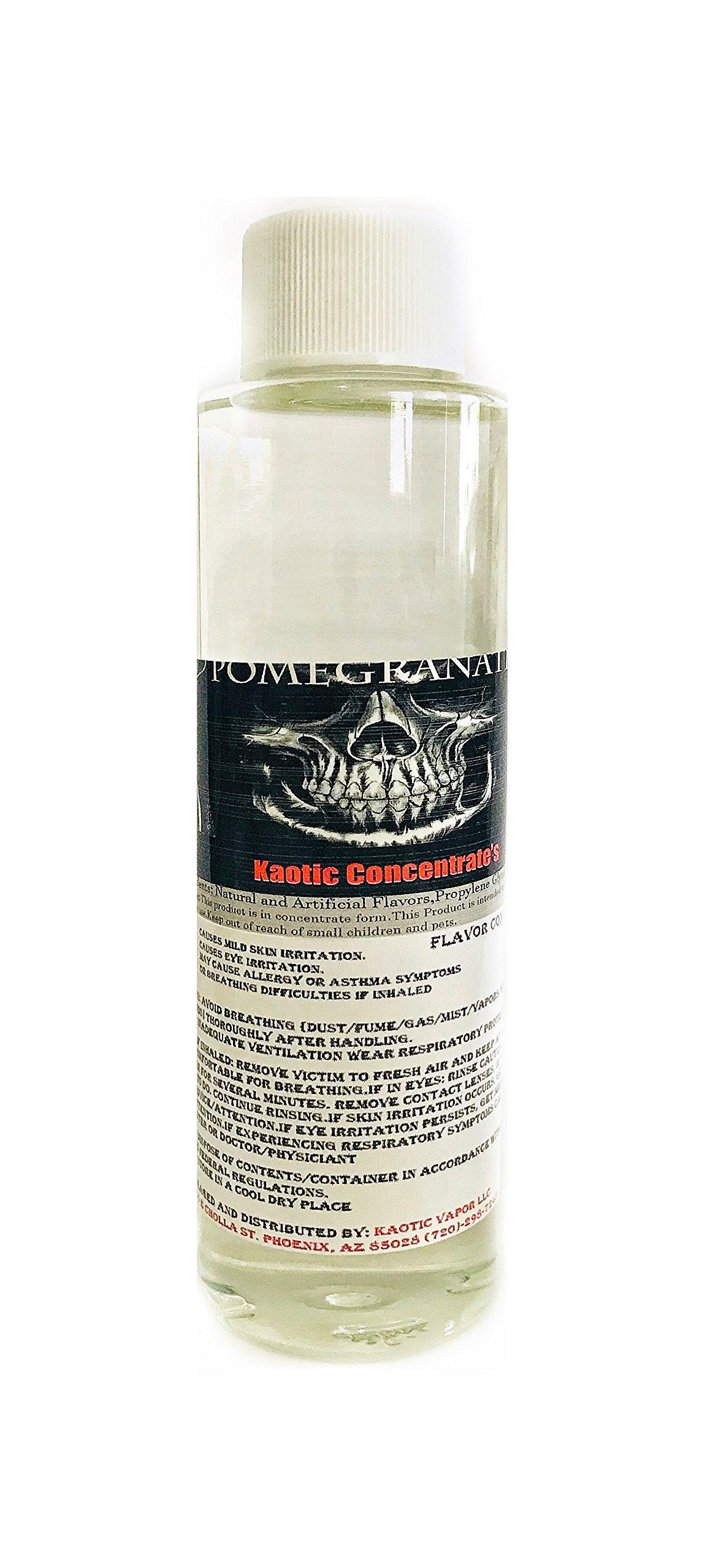 Kaotic Flavor Concentrate's, Food Grade, USA 4 oz Bottle (Pomegranate)