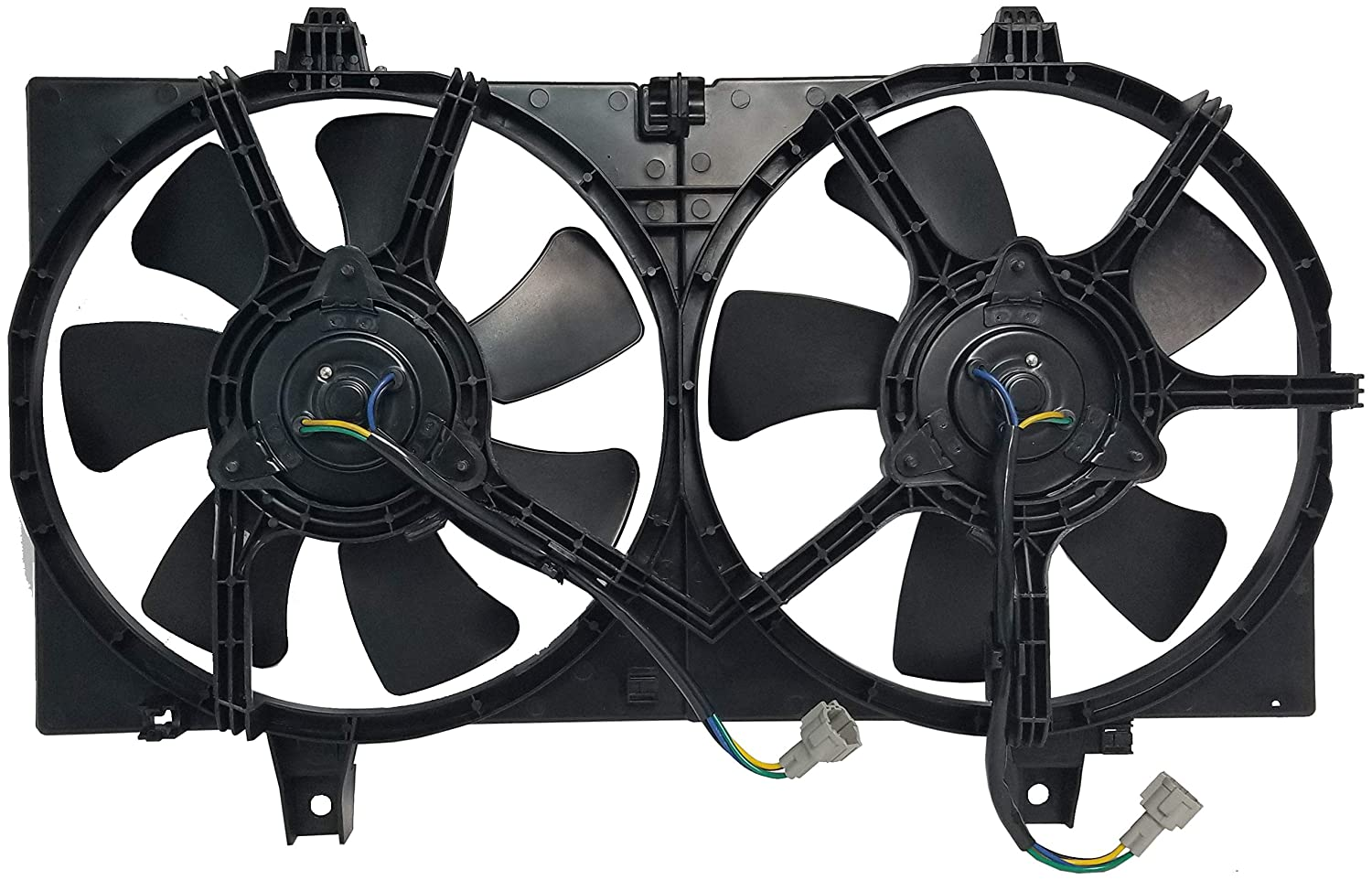 Sunbelt Radiator And Condenser Fan For Nissan Sentra NI3115102 Drop in Fitment