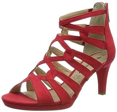 c14315095e Tamaris Damen 1-1-28353-22 Peeptoe Sandalen: Amazon.de: Schuhe ...