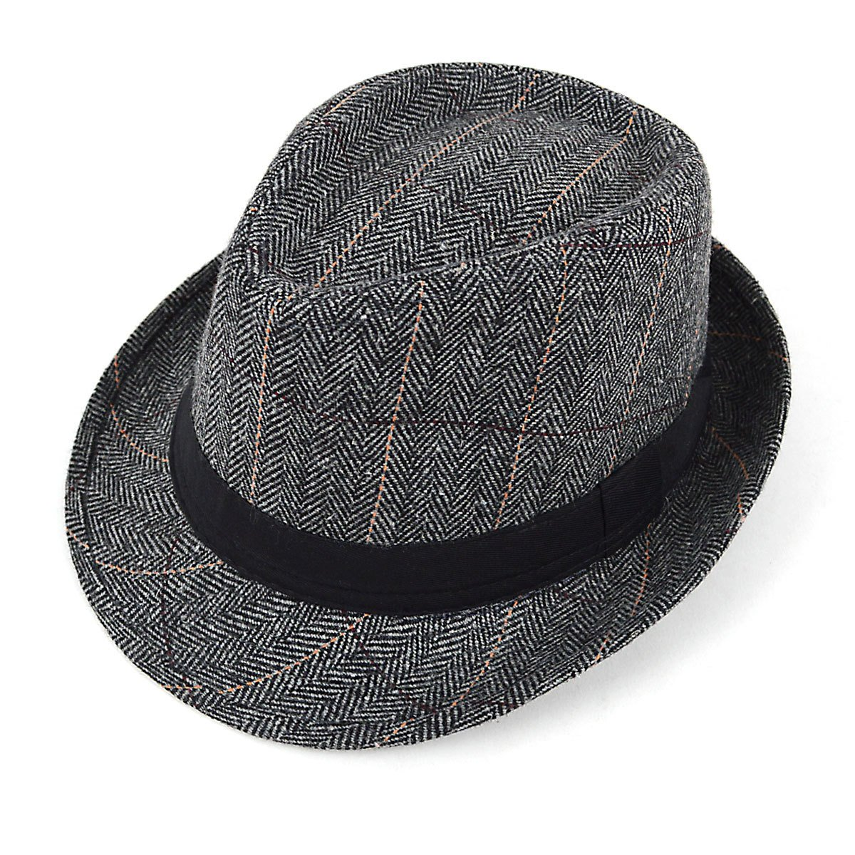 Westend Two Sizes Fall//Winter Gray Fedora Hats