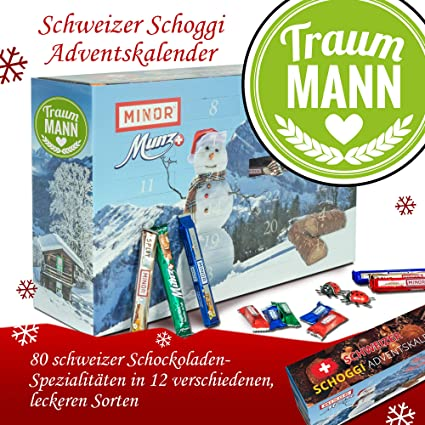 Weihnachtskalender Für Freund.Traummann Advent Kalender Dunkle Schokolade Weihnachtskalender