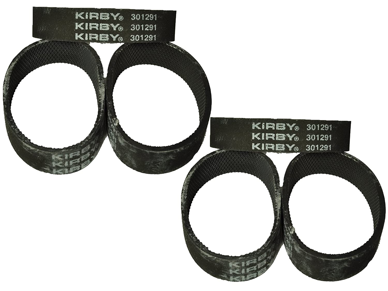 Kirby Vacuum Cleaner Belts 301291 Fits all Generation series models G3, G4, G5, G6, G7, Ultimate G, and Diamond Edition 6 Belts