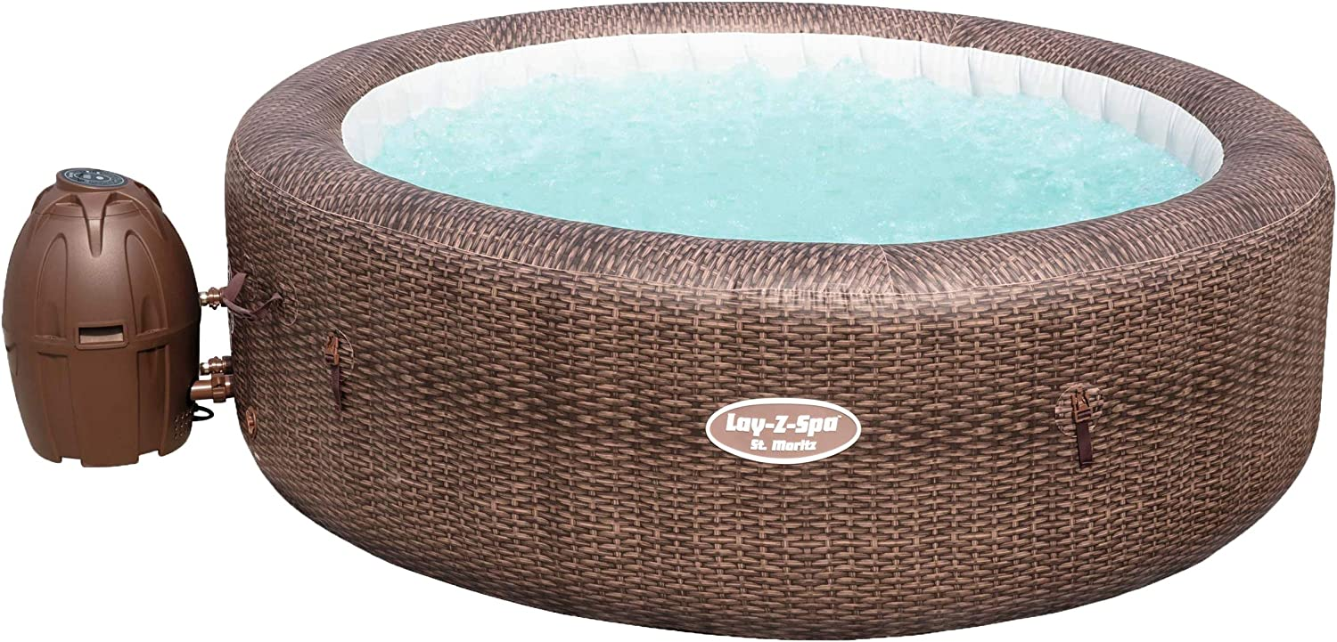 Bestway 54175 Spa Gonflable Lay Z Spa St Moritz 5 7 Places