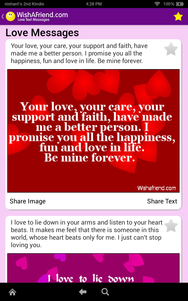 Messages & Poems By Wishafriend.com app for ios – Review ...