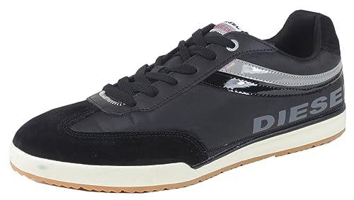 Diesel - Zapatilla Baja Hombre, Color Negro, Talla 40