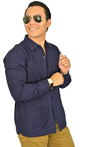 9bf15a3e0c Camisa Guayabera Yucateca Casual Lino Presidencial Original cfkkprsml13