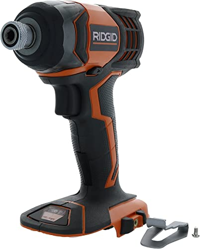Ridgid R86034 X4 18V Lithium Ion 1750 LBS Torque 1 4 Inch Hex Shank Impact Driver Battery Not Included, Power Tool Only Renewed