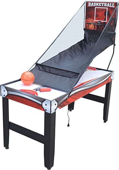 Amazon Com Hathaway Scout 54 In 4 In 1 Multi Game Table Black