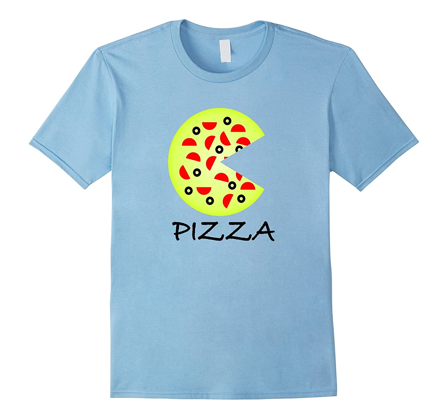 Pizza & Slice Father Mother Son Daughter Matching T-Shirts-Art